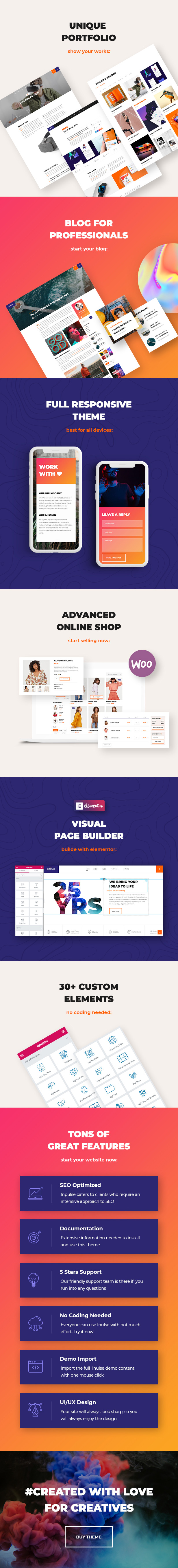 InPulse - Creative Agency WordPress Theme - 2